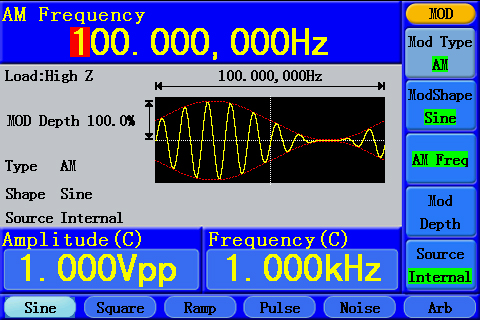 OWON 1-CH High Frequency Arbitrary Waveform Generator
