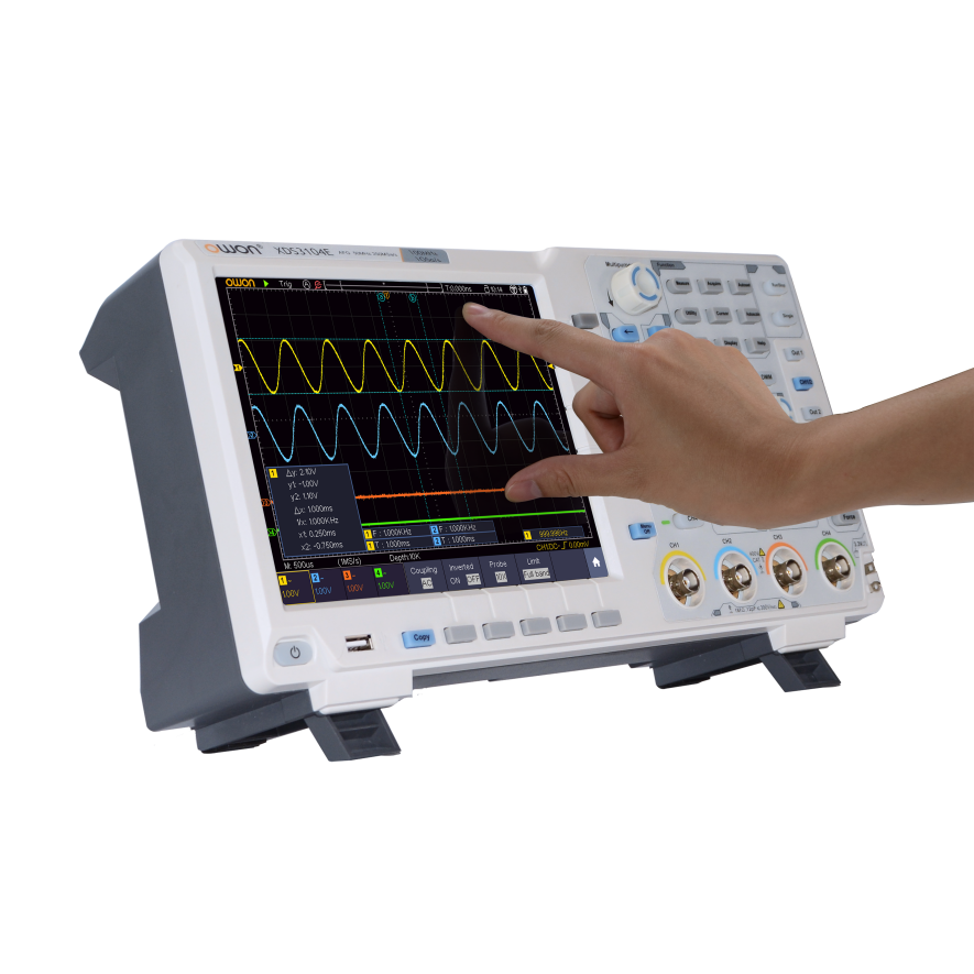 OWON XDS3000-E Series 4CH 8 / 14bit Touchscreen Digital Oscilloscope