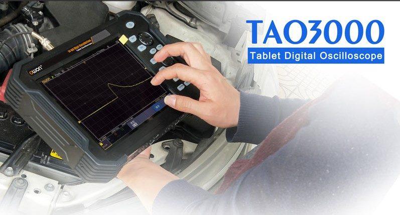 TAO3000 4 チャネルシリーズ タブレットオシロスコープ ユーザーマニュアル